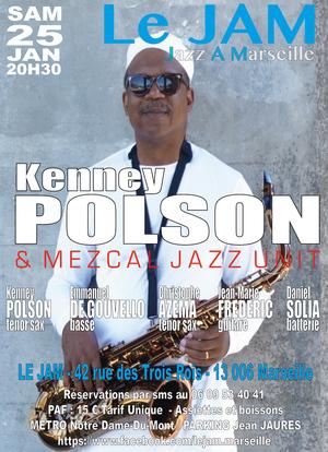 Kenney Polson & Mezcal Jazz Unit (2019)