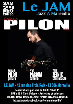 Romain Pilon Trio (2020)