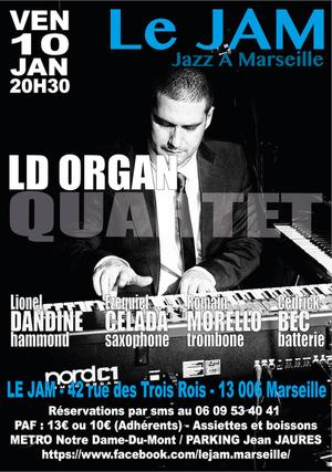 LD Organ Quartet - Lionel Dandine (2019)