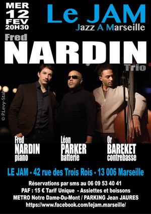 Fred Nardin Trio Feat Léon Parker & Or Bareket (2020)