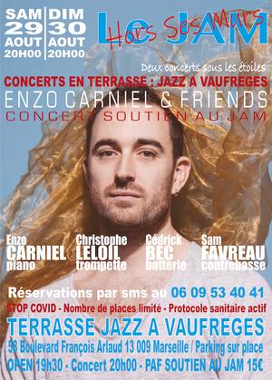 Enzo Carniel & Friends - Concerts soutien au Jam Marseille (2020)