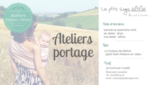 126fa4403c05 Atelier portage bébé (2016) - Evénement - Sortir Nouvelle Aquitaine