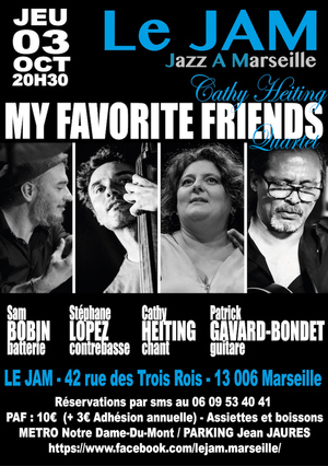 Cathy Heiting - My Favorite Friends Quartet (2019)