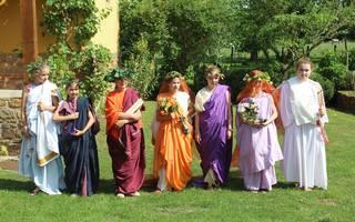 Stage Devenir une fille romaine