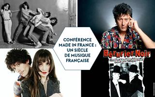 Conférence Made In France // 1975-1990 : De la chanson à texte à un paysage polymorphe