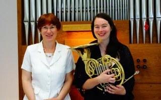 Cor et orgue en duo féminin