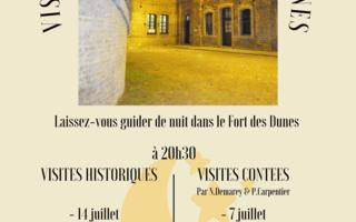 Visites noctunes au Fort des Dunes