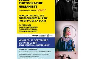 Le Festival Photo La Gacilly et la Scam proposent une soirée dédiée à la photographie humaniste