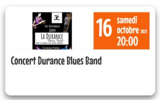 Concert Durance Blues Band