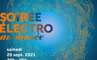 Soirée électro en plein air au musée des impressionnismes Giverny