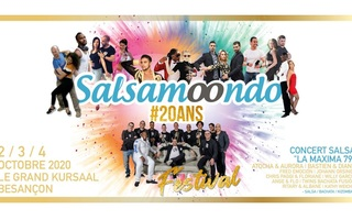 FESTIVAL SALSA #20ANS SALSAMOONDO