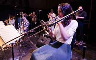 Conservatoire de Bordeaux - Big Band avec Jean-Marc Pierna