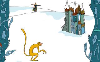 Le Singe et l'Épouvantail - Les Lunaisiens