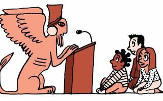 Conférence dessinée - Monstres de la nuit des temps par Hélène Bouillon (conservatrice du patrimoine) et Lucie Castel (dessinatrice)