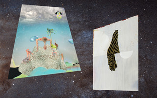 """""""La vie dans l'espace"""". Accrochage des collections"""