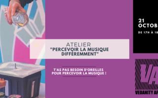 """Atelier """"Percevoir la musique différemment"""" [Adultes]"""