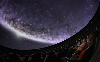 Visite des coulisses du Planétarium 3D