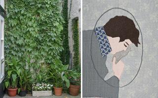 Louise Marie Cumont & Sandra Dufour  Le Livre Jeunesse version textile et artistique
