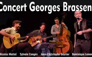 Concert Georges Brassens - Dominique Lamour