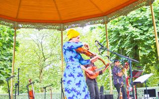 Park Music Festival in Brussel
