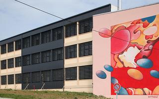 Fresque sensuelle et colorée de Guillaume Bottazzi en Auvergne-Rhône-Alpes