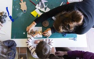 """Atelier vacances """"Pouët-pouët et griboullis"""""""