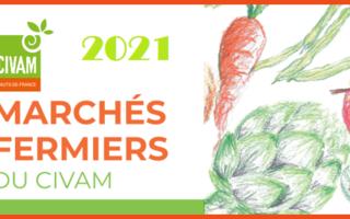 Marchés fermiers du CIVAM 2021 à Annapes (Villeneuve d'Ascq)