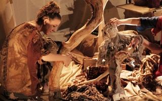 Fibres : Racines, laine et marionnettes