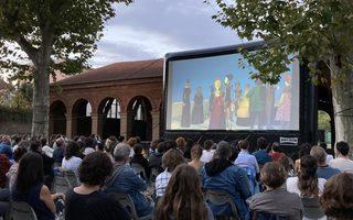 Cinéma Solidaire en plein air