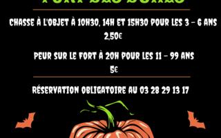 Halloween au Fort des Dunes
