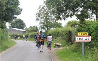 Randonnée pédestre historique - d'Azeville à Saint-Marcouf