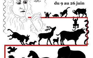 400 ans de La Fontaine : peinture, sculpture, timbres