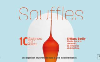 Souffles : 10 designers. 10 ans. 10 vases.