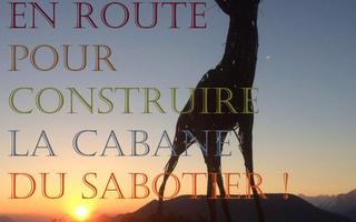 En route pour construire la cabane du sabotier ! - Stage de construction végétale et récup