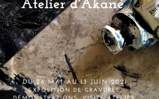 Fête de l'estampe à l'atelier d'Akané