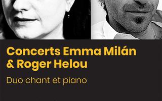 Concert Emma Milán (chant) & Roger Helou (piano) - Tango Argentin