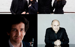 Quatuor Hermès, Nicolas Baldeyrou, Nelson Goerner