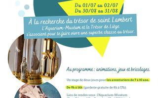 Stage - À la recherche du trésor de saint Lambert