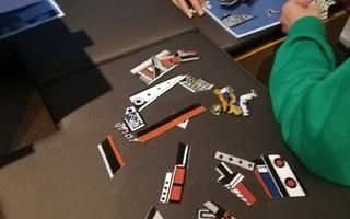 """Animation familles : visite-atelier de l'exposition """"En piste"""""""