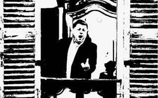 Stéphane Sénéchal, Le Ténor à la Fenêtre.
