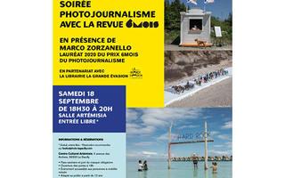 Le Festival Photo La Gacilly et la revue 6Mois proposent une soirée dédiée au photojournalisme