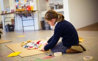 """Atelier vacances de la Toussaint : """"Tableaux textiles"""" (3-5 ans)"""