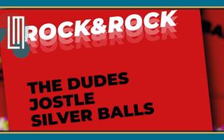 The Dudes / Jostle / Silver Balls + DJ Clairon