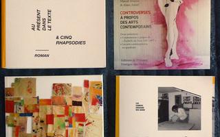 Présentations et dédicaces par les auteurs Marcel Alocco, Alain Amiel, Martine Monacelli, Jacques Simonelli