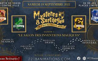 Clermont-Ferrand- Mystères & Sortilèges 5 - Enquête Géante