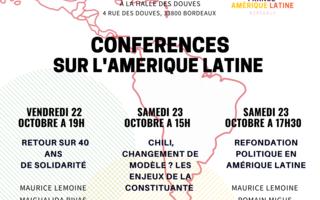 Conférences sur l'Amérique Latine