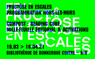 Compost : Reading cube, mille-feuille éditorial & activations