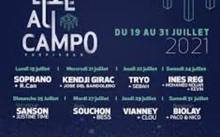 Festival Live au campo 2021