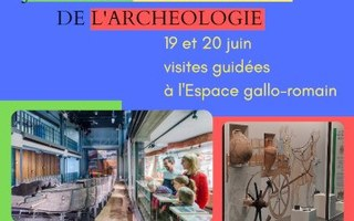 Les Journées européennes de l'Archéologie à l'Espace gallo-romain