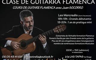 Cours de Guitare Flamenco Hebdomadaire - Maestro Juan Socorro